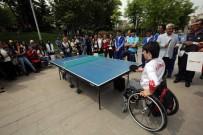 TÜRKIYE SPOR YAZARLARı DERNEĞI - Başkan Yaşar, Öğrenciler Ve Paralimpik Milli Sporcuları Bir Araya Getirdi