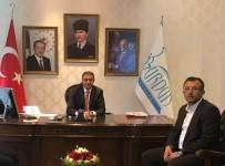 HASAN ŞıLDAK - Başkan Yavaş'tan Burdur Valisi Şıldak'a Ziyaret