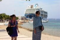 DISCOVERY - Beklenen Turist Bugün Bodrum'a Geldi