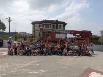 BOZÜYÜK BELEDİYESİ - Bozüyük Belediyesi İtfaiye Müdürlüğü'nden 900 Minik Öğrenciye Yangın Eğitimi