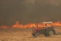 KARAKURT - Denizli'de Orman Yangını Kontrol Altına Alındı