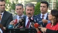MILLETVEKILI - Destici'den Cumhurbaşkanı Erdoğan'a Teşekkür Ziyareti