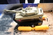 Suda hareket edebilen tank geliştirdiler
