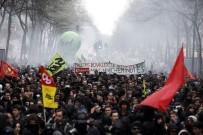 KAMU ÇALIŞANLARI - Fransa'da Kamu Çalışanları 3. Kez Greve Gidiyor