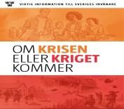 KÜRESELLEŞME - İsveçlilere 'Kriz Veya Savaş Çıkarsa' Kitabı Dağıtılıyor