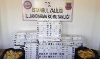 KAÇAK SİGARA - Jandarmadan İstanbul'da Kaçak Sigara Operasyonu