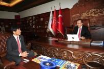 KAPADOKYA - Japon Büyükelçisi Miyajima, Belediye Başkanı Seçen'i Ziyaret Etti