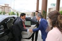 FEN EDEBİYAT FAKÜLTESİ - Japonya Büyükelçisi Akio Miyajima, Rektör Bağlı'yı Ziyaret Etti