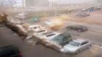 ŞİDDETLİ FIRTINA - Kazakistan'da Şiddetli Fırtına