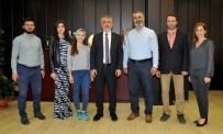 SEYFULLAH - OMÜ TÜRKÇE Başarısını Rektör Bilgiç'le Paylaştı