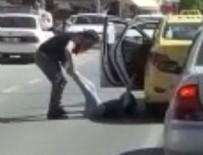 TAKSİ ŞOFÖRÜ - İstanbul'da taksici dehşeti kamerada