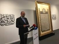 KÜTÜPHANE - Ramazan Ayına Özel 'Esmaü'n Nebi' Hat Sergisi, Yıldız Holding Sergi Salonu'nda Açıldı
