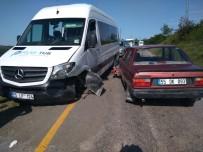 ÖĞRENCİ SERVİSİ - Samsun'da Trafik Kazası Açıklaması 6 Yaralı