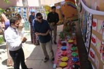 ÖĞRENCİ VELİSİ - Sason'da Miniklerin Sergisi Yoğun İlgi Gördü