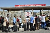 REYHANLI - Suriyeliler Bayramlaşmak İçin Ülkelerine Gitmeye Başladı