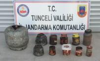 AMONYUM NİTRAT - Tunceli'de Mühimmat Ele Geçirildi