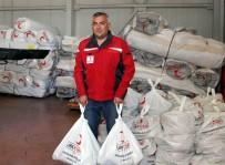 TÜRK KıZıLAYı - Türk Kızılayı'ndan İhtiyaçlı Ailelere Gıda Yardımı