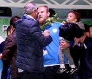 YÜKSELEN - 4 Penaltı Kurtararak BB. Erzurumspor'u Süper Lige Taşıyan Hakan Canbazoğlu Açıklaması