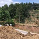 GÜMÜŞDERE - Ahi Dağının 4'Üncü Etap Yol Çalışmaları Başladı