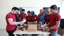 RAMAZAN KOLİSİ - Atıklar Muhtaç Ailelere Ramazan Kolisi Olarak Döndü