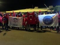 ERKILET - Avrupa Şampiyonu Memleketinde Türk Bayraklarıyla Karşılandı