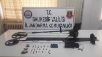 Balıkesir'de Tarihi Eser Kaçakçıları Yakalandı