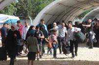 CİLVEGÖZÜ SINIR KAPISI - Bayram İçin Gitmek İsteyen Suriyelilerin Sayısı 72 Bine Ulaştı