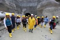 KARADERE - Bolu'nun 3 Bin 674 Metrelik İçme Suyu Projesinde Son 384 Metre
