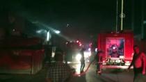 SANAYİ SİTESİ - Büyükçekmece'de Metal Kesim Atölyesinde Yangın