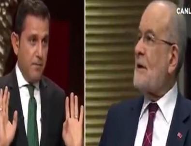 Fatih Portakal Temel Karamollaoğlu'nu fena gazladı