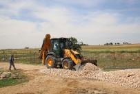 KAYALı - Haliliye'de  Yol Yapım Çalışmaları Sürüyor