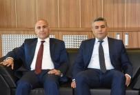 HALKBANK - Halkbank Bölge Müdürü Arslan'dan MTSO'ya Ziyaret