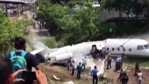 HONDURAS - Honduras'ta Jet Uçağı Düştü Açıklaması 6 Yaralı