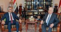 BARZANI - Irak Cumhurbaşkanı KDP Ve KYB Heyetleriyle Görüştü
