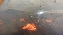 YÜKSELEN - Kahta Çöplüğünde Yangın