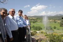 TOPTANCI HALİ - Kaş'ın Yaylaçavdır Mahallesi Sulama Suyuna Kavuştu