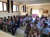 HÜSEYIN ÖNER - Kaymakam Öner, İlkokul Öğrencileri İle Kitap Okudu