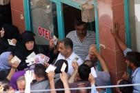 SINANOĞLU - Kilis'te 50 Liralık Yardım İzdihamı