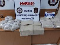 UYUŞTURUCUYLA MÜCADELE - Mersin'de 15 Kilo Eroin Ele Geçirildi