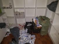 KAÇAK SİGARA - Polis Ekiplerinden Tütün Kaçakçılarına Operasyon