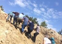 SULAMA KANALI - Sulama Kanalına Düşen 3 İşçi Yaralandı