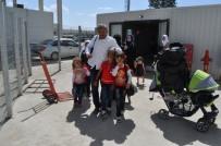 RECEP TAYYİP ERDOĞAN - Suriyelilerin Bayram İçin Ülkelerine Dönüşleri Sürüyor
