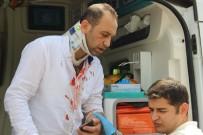 ŞANLIURFA - Sürücüsü Bayılan Öğretmen Servisi Otobüs Durağına Daldı Açıklaması 5 Yaralı