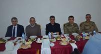 MEHMET ALİ ÖZKAN - Tatvan Belediyesinden Kurum Amirlerine İftar Yemeği