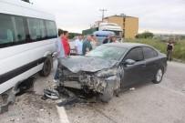 İŞÇİ SERVİSİ - Tekirdağ'da Trafik Kazası Açıklaması 5 Yaralı