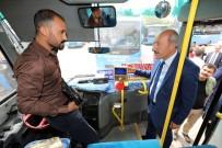 ELEKTRONİK BİLET - Van'daki Özel Halk Otobüslerine Denetim