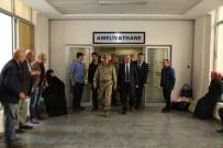 İSMAIL ŞAHIN - 8. Kolordu Komutanı Korgeneral Erbaş'ın, Şehit Uslu'nun Ailesine Taziye Ziyareti