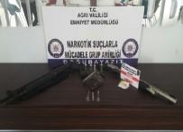 POMPALI TÜFEK - Ağrı'da Uyuşturucu Operasyonu Açıklaması 5 Gözaltı