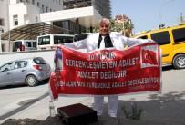 MAHKEME HEYETİ - Alanya'da 10 Yıldır Süren Davaya Pankartlı İsyan