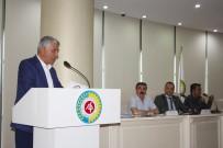 SAYGI DURUŞU - ATSO'da Yeni Dönemin İlk Meclis Toplantısı Gerçekleştirildi